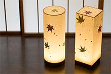 和紙照明のデザイン