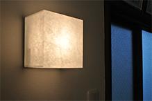 和紙照明のオーダーメイド
