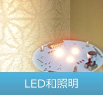 LED和照明のイメージ